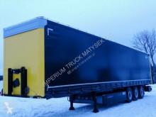 Kögel CURTAINSIDER/STANDARD / LIFTED AXLE /COILMULD 9M semi-trailer used tarp