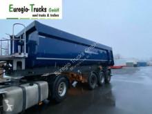 Langendorf tipper semi-trailer 3-achs Hardoxstahl Halbschale 26 cbm