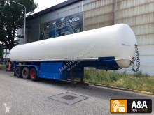 Félpótkocsi Gofa LPG GPL propane butane gas gaz 50.000 L használt vegyi anyagok tartálykocsi