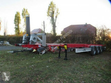 "Trailer Fliegl 40"" Kippchassis, SAF Scheibe, Lift tweedehands chassis"