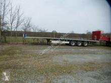 Fliegl flatbed semi-trailer Plateau,feuerverzinkter Rahmen,Bereifung ca. 80%