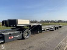 Semirimorchio trasporto macchinari Broshuis 3 ABSD-48 Power steering , Extendable 6 mtr !!!