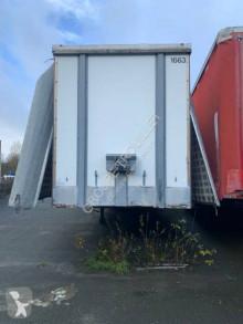 半挂车 侧边滑动门(厢式货车) Trouillet SEMI REMORQUE PLSC POUR EXPORT