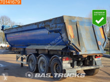 Semi reboque MOL 29m3 Steel Tipper Hydraulic Door Liftaxle basculante usado