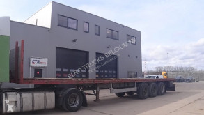 Blumhardt flatbed semi-trailer SAL (BPW-axles / DRUM BRAKES / FREINS TAMBOUR)