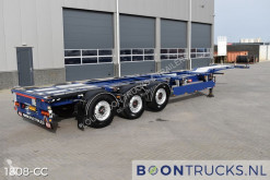 Pacton ET3 | 2x20-30-40ft * STEERING + LIFT AXLE * APK/ADR 12-2021 semi-trailer used container