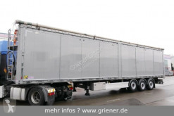 Kraker trailers CF-Z SEITLICHE TÜREN 88 m³ 10 mm CARGOFLOOR LIFT semi-trailer used moving floor