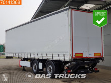 Krone SZ 2-As City + Laadklep Steering axle semi-trailer used tautliner