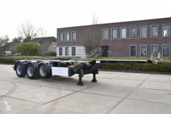 D-TEC container semi-trailer FT-43-03V - BPW AXLES - LIFT AXLE - DRUM BRAKES - 3 x EXTENDABLE -