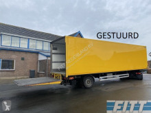Heiwo HZO 21 1as gestuurde gesloten city trailer met achterklep semi-trailer used box