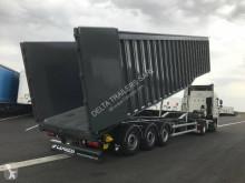 Gervasi scrap dumper semi-trailer Maxi Tiger Double vérins 80m3