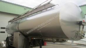 Semirimorchio Magyar 25s cisterna trasporto alimenti usato
