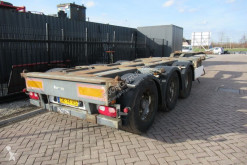 Pacton container semi-trailer T3-010 / 3x Extendable / SAF + Drum