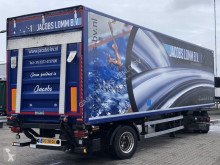 Box semi-trailer GESLOTEN CITY TRAILER