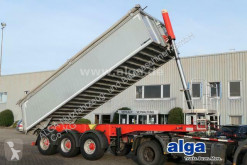 Langendorf tipper semi-trailer SKA 24/31, Alu, 25m³, Rollplane, Liftachse, BPW