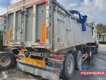 Benalu ben semi-trailer damaged construction dump