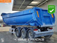 MOL 29m3 Alu Kipper BPW Liftaxle semi-trailer used tipper