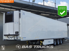 Krone Carrier Vector 1550 2x Liftachse Doppelstock Palettenkasten semi-trailer used mono temperature refrigerated