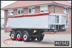 Carnehl tipper semi-trailer CHKS/AL 24m³ Alu,Thermo,Lift Tüv 07/21