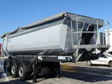 Schwarzmüller TIPPER 28 M3 / WHOLE STEEL /LIFTED AXLE/6200 KG semi-trailer used tipper