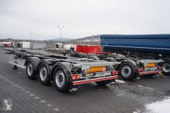 Naczepa do transportu kontenerów Fliegl PODKONTENEROWA / ROZSUWANY PRZÓD + TYŁ