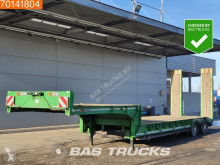 Gheysen et verpoort S2VB Steelsuspension Lenkachse semi-trailer used heavy equipment transport