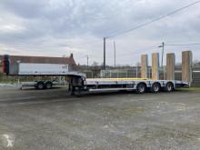 Semirimorchio trasporto macchinari MAX Trailer MAX 100 PORTE ENGINS 3 ESSIEUX MAX 100 TABLE ELEVATRICE