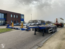 D-TEC container semi-trailer Multi Chassis / Extendable / BPW / Liftaxle / NL / APK