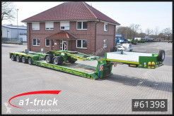 Faymonville heavy equipment transport semi-trailer STBZ-4VA, 4+2 Tele, Extandable, Dolly, super low