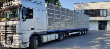Sættevogn Krone SD naczepa do przewozu indyków anhænger til dyretransport brugt
