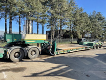 Semirremolque portamáquinas Faymonville STBZ-3VA - 76.5 Tons Lowloader (removable neck / Abnehmbahr) / LOWBED 7m30 + 5m EXTENDABLE - HYDR STEERING - SAF - VERY