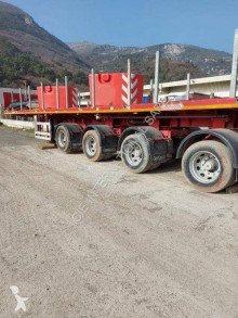 Nooteboom flatbed semi-trailer OVS-73-04