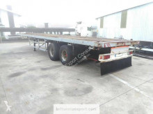 Listrailer flatbed semi-trailer with twist locks on springs suspension