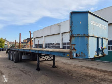 Bulthuis Platform Dubbele montage / Lucht geveerd semi-trailer used flatbed
