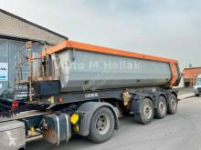 Semi reboque Carnehl CHKS 24 m³ Stahl / Stahl Mulde Luft/Lift basculante usado