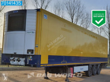 Krone mono temperature refrigerated semi-trailer Carrier Vector 1550 Doppelstock Blumenbreit