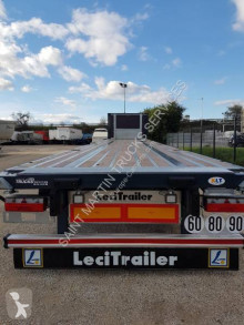 Lecitrailer container semi-trailer PLATEAU PORTE CONTAINER