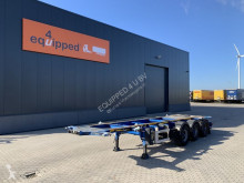 LAG 20FT/30FT, BPW, ADR (EXII, EXIII, FL, OX, AT), NL-CHASSIS semi-trailer used container
