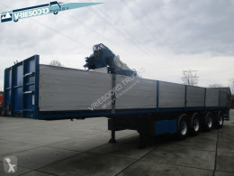 Floor flatbed semi-trailer FLO-17-36H2