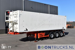 Semirimorchio Stas SA339K | 52 M³ TIPPER * LIFT AXLE * TOP CONDITION * APK 11-2021 ribaltabile usato