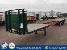 Dennison 7.6 M EXTENDABLE semi-trailer used flatbed