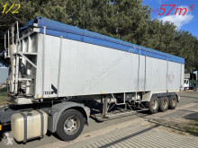 Semirimorchio Stas 57m³ GROSS VOLUME ALU KIPPER / BIG VOLUME ALU KIPPER - ROR - LIFT-AXLE / LIFT-ACHSE - AIR SUSPENSION / LUFT FEDERUNG - ALU ALU ribaltabile usato