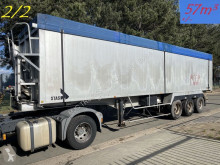 Semirimorchio Stas 57m³ VOLUME ALU KIPPER / BIG VOLUME ALU KIPPER - ROR - LIFT-AXLE / LIFT-ACHSE - AIR SUSPENSION / LUFT FEDERUNG - ALU ALU ribaltabile usato