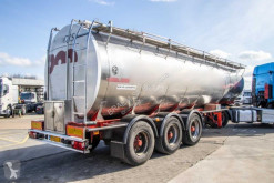 Burg chemical tanker semi-trailer CITERNE ALIMENTAIRE INOX - 31.000L ( 3 comp.)