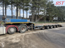 Faymonville heavy equipment transport semi-trailer STZ-5U - 85T LOWLOADER - 5 AXLES + RAMPS - BPW - 4 STEERING AXLES / TIEFLADER - 5 ACHSEN BPW - 4x LENKACHSEN - 85 TONNEN + RAMPE
