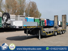 Goldhofer heavy equipment transport semi-trailer STN-L 3 HYDR. RAMPS machine transporter