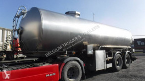 ETA food tanker semi-trailer 25000 liter lait