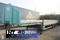 Zorzi heavy equipment transport semi-trailer carrellone collo d'oca rampe idrauliche usato