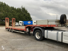 Nooteboom heavy equipment transport semi-trailer OSD porte engins trois essieux