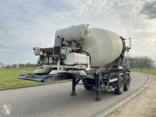 Semirimorchio calcestruzzo rotore / Mescolatore Groenewegen 7m3 Concrete Mixer / Deutz Egine / Steel Suspension